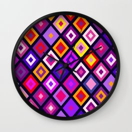 Harlequins IV Wall Clock