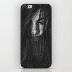 Dark Girl iPhone & iPod Skin