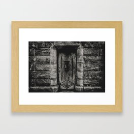Time Tombs Framed Art Print