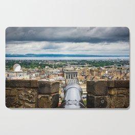 View from Edinburgh Castle, Scotland Cutting Board