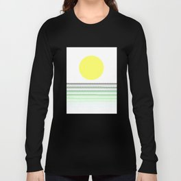 Sunset @ Sunrise (Green) Long Sleeve T-shirt