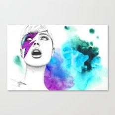 Bowia Canvas Print