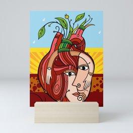 Corazón Mini Art Print