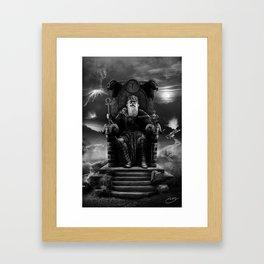 IV. The Emperor  Framed Art Print