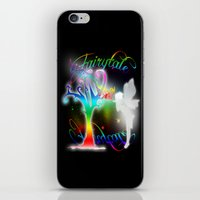 fairytale iPhone & iPod Skins featuring Fairytale by Augustinet