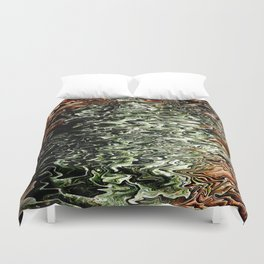 Agitated... Duvet Cover
