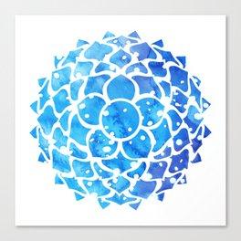 Sahasrara blue Canvas Print