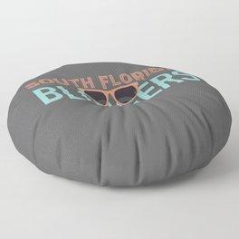 South Florida Bloggers Logo Floor Pillow