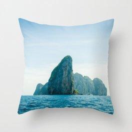 Far Places Throw Pillow