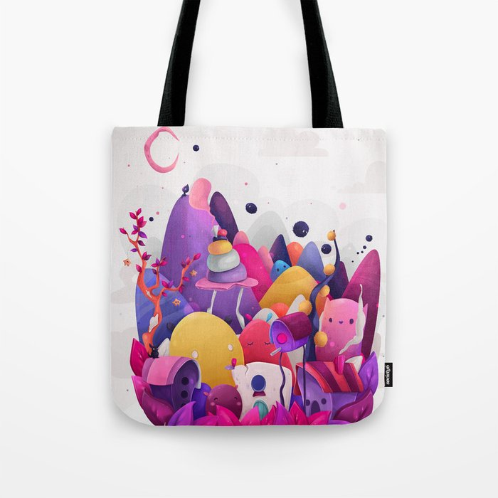 Home for Imaginary Friends Tote Bag