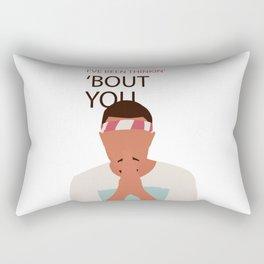 Frank - I've been thinkin' 'bout you - Ocean Rectangular Pillow
