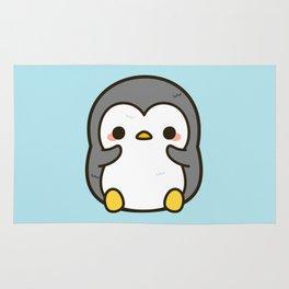 Shy penguin Rug