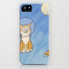 Catronaut iPhone Case