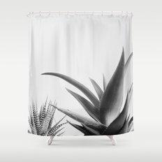 Succulents II Shower Curtain