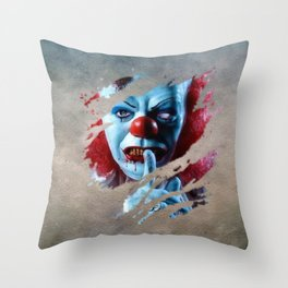Clown 06 Throw Pillow