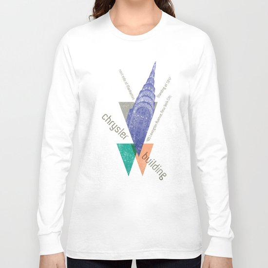 chysler building Long Sleeve T-shirt
