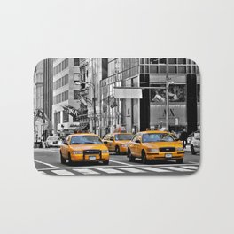 NYC Yellow Cabs NYPD - USA Bath Mat