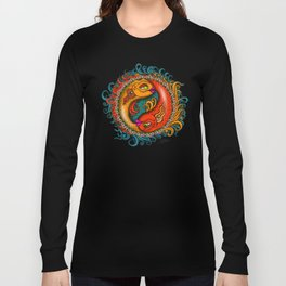 Yin Yang Koi Long Sleeve T-shirt