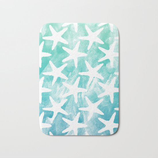 Stars from the Sea Bath Mat