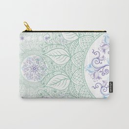 Mandaleaf - Green Carry-All Pouch