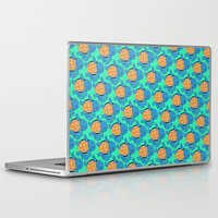 squirtle Laptop & iPad Skins featuring Squirtle Squad by pkarnold + The Cult Print Shop