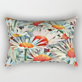 Sunshine Daisies Rectangular Pillow