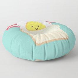 Morning Breakfast Floor Pillow