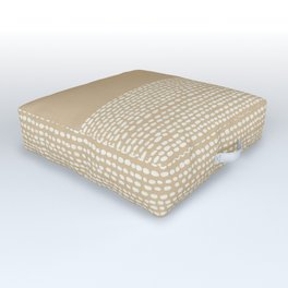 Riverside - Sand Outdoor Floor Cushion