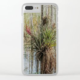 Unexpected Beauty Clear iPhone Case