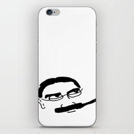Groucho Marx Knit. iPhone Skin