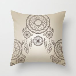 Dreamcather Throw Pillow
