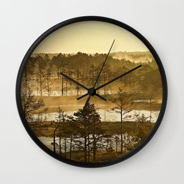 One Early Morning Wall Clock
