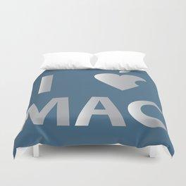 I heart Mac Duvet Cover