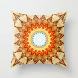 Mandala magnificence Throw Pillow