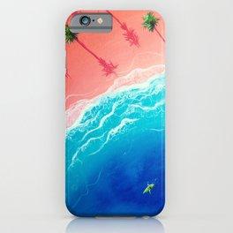 Kay-atching Waves iPhone Case