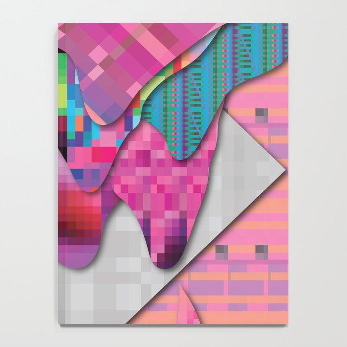 drippy pink Notebook