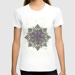 Zen Watercolor Mandala Full T-shirt