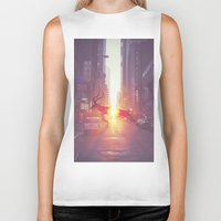 tame impala Biker Tanks featuring Tame Impala by Joey Grande