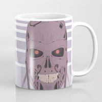 terminator Mugs featuring Terminator  by avoid peril
