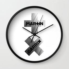 MARTIN GARRIX METALIC Wall Clock