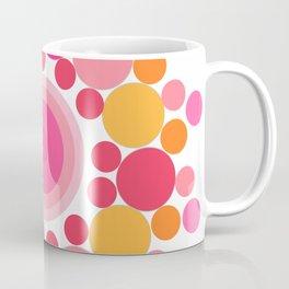 Circling Pinks Coffee Mug