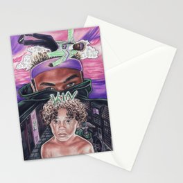 kin. track eight. Stationery Cards