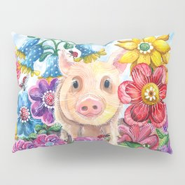 Penelope Pig Pillow Sham