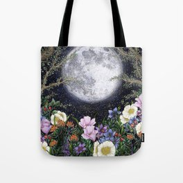 Midnight in the Garden II Tote Bag