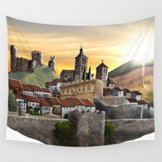Cogolludo Sunrise Wall Tapestry