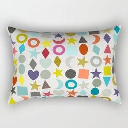 geo garland Rectangular Pillow
