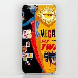 Vintage poster - Las Vegas iPhone Skin