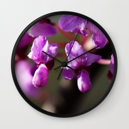 What Does Purple Sound Like Wall Clock