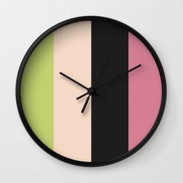Color Ensemble No. 5 Wall Clock