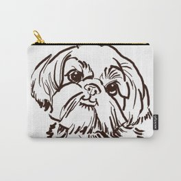 The sweet Shih Tzu dog love of my life! Carry-All Pouch